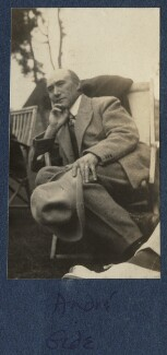 André Gide, by Lady Ottoline Morrell - NPG Ax140869