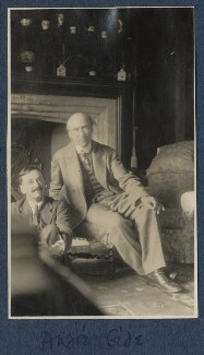 Simon Bussy; André Gide, by Lady Ottoline Morrell - NPG Ax140870
