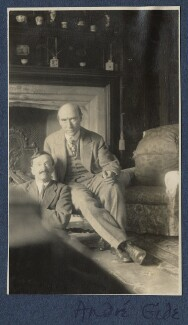 Simon Bussy; André Gide, by Lady Ottoline Morrell - NPG Ax140873