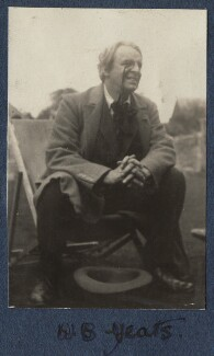 W.B. Yeats, by Lady Ottoline Morrell - NPG Ax140871