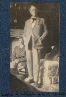 Siegfried Sassoon; W.B. Yeats, by Lady Ottoline Morrell - NPG Ax140877