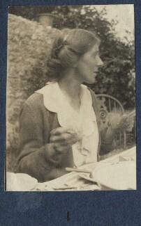 Fredegond Shove (née Maitland), by Lady Ottoline Morrell - NPG Ax140886