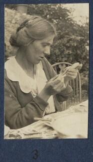 Fredegond Shove (née Maitland), by Lady Ottoline Morrell - NPG Ax140888