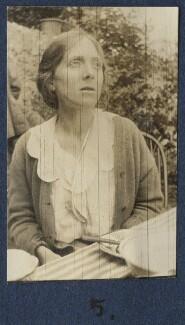 Fredegond Shove (née Maitland), by Lady Ottoline Morrell - NPG Ax140890