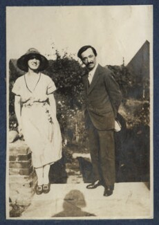 Simon Bussy and an unknown woman, by Lady Ottoline Morrell - NPG Ax140898