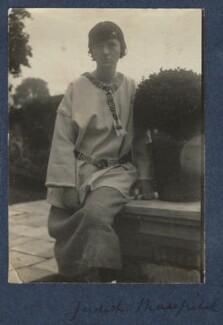 Judith Masefield, by Lady Ottoline Morrell - NPG Ax140907