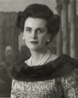 (Ethel) Margaret Campbell (née Whigham), Duchess of Argyll, by Rex Coleman, for  Baron Studios - NPG x125989