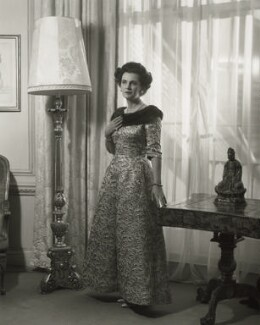 Margaret, Duchess of Argyll, by Rex Coleman, for  Baron Studios - NPG x125991