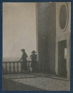 Lady Ottoline Morrell; Julian Vinogradoff (née Morrell), by Philip Edward Morrell - NPG Ax140932