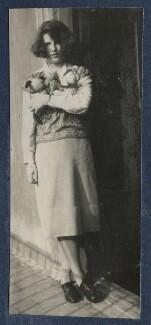 Julian Vinogradoff (née Morrell), by Lady Ottoline Morrell - NPG Ax141009