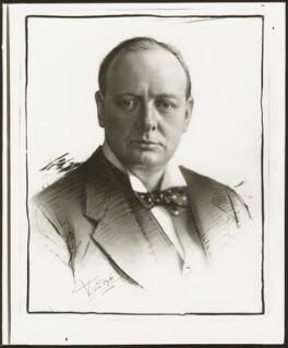 Winston Churchill, by Vandyk - NPG x129685