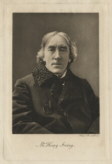 Sir Henry Irving, by Walker & Boutall, possibly after  Sir Emery Walker - NPG x17931