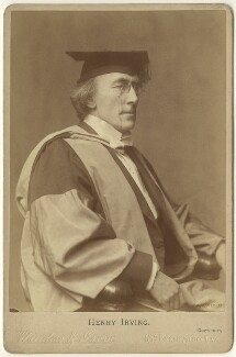 Sir Henry Irving, by Window & Grove - NPG x22245