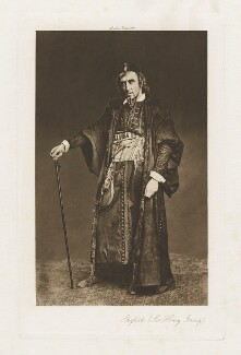 Sir Henry Irving as Shylock in 'The Merchant of Venice', by Virtue & Co, after  Edward Lyddell Sawyer, 1879 - NPG  - © National Portrait Gallery, London