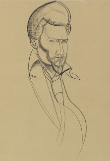 Ezra Pound, by (Percy) Wyndham Lewis, 1920 - NPG 6728 - © Wyndham Lewis and the estate of the late Mrs G A Wyndham Lewis by kind permission of the Wyndham Lewis Memorial Trust (a registered charity)