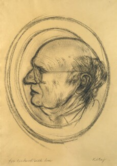 Richard Arthur Wollheim, by R.B. Kitaj - NPG 6742
