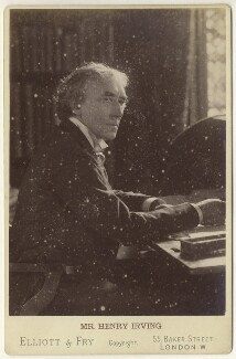 Sir Henry Irving, by Elliott & Fry - NPG x12558