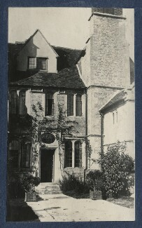 Garsington Manor, by Lady Ottoline Morrell - NPG Ax141197