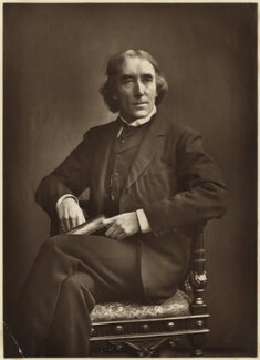 Sir Henry Irving, by Alfred Ellis - NPG x17934