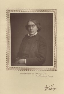 Sir Henry Irving, by Unknown photographer - NPG x17927
