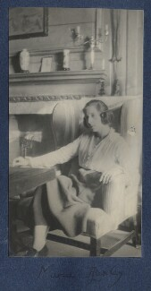 Maria Huxley (née Nys), by Lady Ottoline Morrell - NPG Ax141203