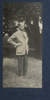 Henry Major Tomlinson, by Lady Ottoline Morrell, 1921 - NPG Ax141205 - © National Portrait Gallery, London