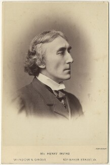 Sir Henry Irving, by Window & Grove - NPG x46688