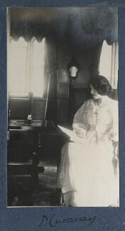 Lady Ottoline Morrell, by Lady Ottoline Morrell - NPG Ax141221