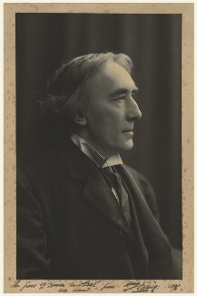 Sir Henry Irving, by Window & Grove - NPG x19009