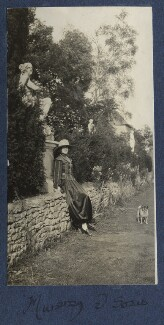 Lady Ottoline Morrell ('Mummy and Soie'), by Philip Edward Morrell - NPG Ax141224