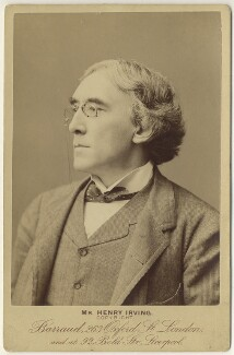 Sir Henry Irving, by Herbert Rose Barraud - NPG x12126