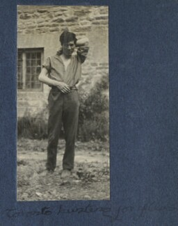 'Toronto bursting for fleas' (Frank James Prewett), by Lady Ottoline Morrell - NPG Ax141230