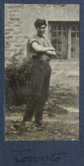 Frank James Prewett, by Lady Ottoline Morrell - NPG Ax141231