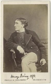 Sir Henry Irving, by Fradelle & Leach - NPG Ax18154