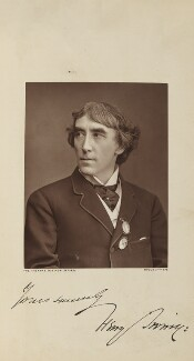 Sir Henry Irving, by Lock & Whitfield, published by  Wyman & Sons - NPG Ax28263