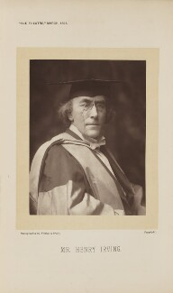 Sir Henry Irving, by Window & Grove - NPG Ax28874