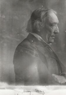Sir Henry Irving, by Eveleen Myers (née Tennant) - NPG Ax68781