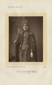 Dame (Lucy) Genevieve Teresa Ward, Countess de Guerbel as Morgan le Fay in 'King Arthur', by Alfred Ellis - NPG x27256