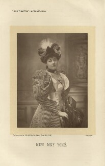 May Yohé, by Alfred Ellis, published 1 November 1895 - NPG x27562 - © National Portrait Gallery, London