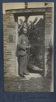 Henry Major Tomlinson, by Lady Ottoline Morrell, 1922 - NPG Ax141299 - © National Portrait Gallery, London