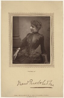 Maud (née Holt), Lady Beerbohm Tree, by St James's Photographic Co - NPG x27045