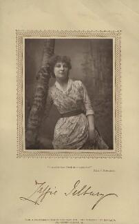 Zeffie Tilbury (Mrs L.D. Woodthorpe) in 'Ruth's Romance', by Herbert Rose Barraud, published by  David Bogue - NPG x26906