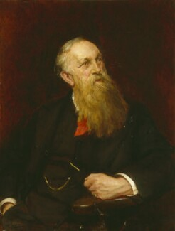 Henry Mayers Hyndman, by Sydney Prior Hall - NPG 6747