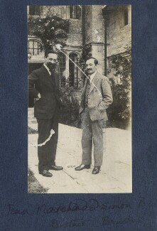 Jean Marchand; Simon Bussy, by Lady Ottoline Morrell - NPG Ax141309
