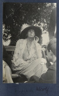 Virginia Woolf; Lord David Cecil, by Lady Ottoline Morrell - NPG Ax141310