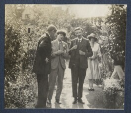 Henry William Massingham; Mark Gertler; E.M. Forster; Julian Vinogradoff (née Morrell), by Lady Ottoline Morrell - NPG Ax141326