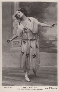 Anna Pavlova, by The Dover Street Studios Ltd, published by  J. Beagles & Co, circa 1911 - NPG x11911 - © National Portrait Gallery, London