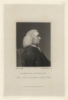 Nathaniel Cotton, by William Henry Worthington, after  John Thurston - NPG D20854
