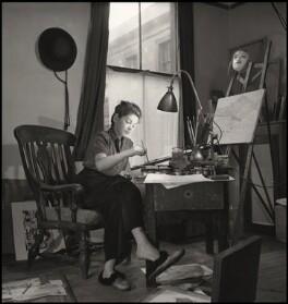 Eva Najman, by John Gay, March 1947 - NPG x127308 - © National Portrait Gallery, London
