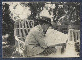 E.M. Forster, by Lady Ottoline Morrell, 1922 - NPG Ax141330 - © National Portrait Gallery, London
